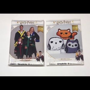 Simplicity Patterns Harry Potter Robes & Pillows